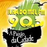 Logo da emissora R�dio Ilha do Mel 90.3 FM