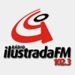 Logo da emissora Rádio Ilustrada 102.3 FM