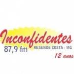 Logo da emissora R�dio Inconfidentes 87.9 FM