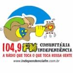 Logo da emissora R�dio FM Independ�ncia 104.9 FM