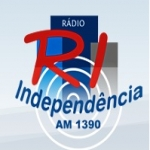 Logo da emissora Rádio Independência 1390 AM