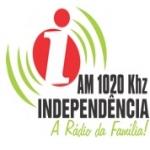 Logo da emissora Rádio Independência 1020 AM
