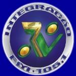 Logo da emissora Rádio Integração 105.1 FM