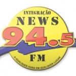 Logo da emissora R�dio Integra��o News 94.5 FM