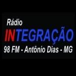 Logo da emissora Rádio Integração 98.7 FM