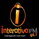 Logo da emissora R�dio Interativa 91.7 FM