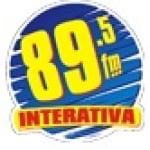 Logo da emissora R�dio Interativa 89.5 FM
