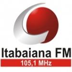 Logo da emissora R�dio Itabaiana 105.1 FM