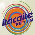 Logo da emissora R�dio Itacait� 88.1 FM