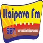 Logo da emissora R�dio Itaipava 98.7 FM