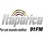 Logo da emissora Rádio Itaparica 91 FM