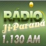 Logo da emissora R�dio Ji-Paran� 1130 AM