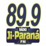 Logo da emissora R�dio Ji-Paran� 89.9 FM