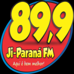 Logo da emissora Rádio Ji-Paraná 89.9 FM