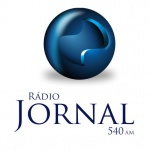 Logo da emissora Rádio Jornal 540 AM