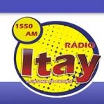 Logo da emissora R�dio Itay 1550 AM