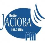 Logo da emissora R�dio Jaciob� 101.7 FM