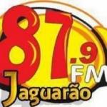 Logo da emissora R�dio Jaguar�o 87.9 FM