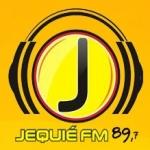 Logo da emissora R�dio Jequi� 89.7 FM