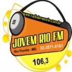 Logo da emissora Rádio Jovem Rio 106.3 FM