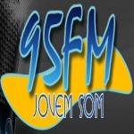 Logo da emissora R�dio Jovem Som 95.1 FM