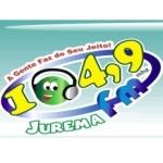Logo da emissora R�dio Jurema 104.9 FM