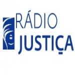 Logo da emissora Rádio Justiça 104.7 FM