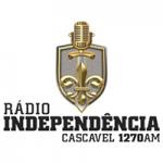 Logo da emissora Rádio Independência Cascavel 1270 AM