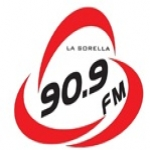 Logo da emissora Rádio La Sorella 90.9 FM