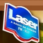 Logo da emissora R�dio Laser 93.3 FM