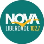 Logo da emissora Rádio Nova Liberdade 102.7 FM