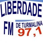 Logo da emissora R�dio Liberdade 97.1 FM