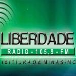 Logo da emissora R�dio Liberdade 105.9 FM