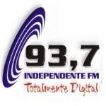 Logo da emissora Rádio Independente 93.7 FM