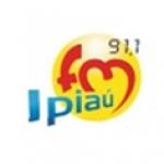 Logo da emissora R�dio Ipia� 91.1 FM