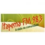 Logo da emissora Rádio Itapema 98.3 FM