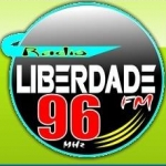 Logo da emissora R�dio Liberdade 96.1 FM