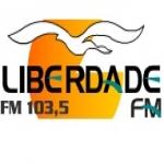 Logo da emissora Rádio Liberdade 103.5 FM