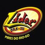 Logo da emissora R�dio L�der 90.3 FM