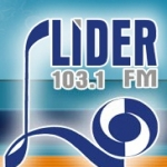 Logo da emissora R�dio L�der 103.1 FM