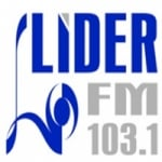 Logo da emissora Rádio Líder 103.1 FM