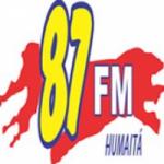 Logo da emissora Rádio Humaitá 87.9 FM