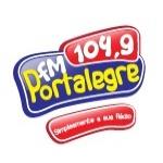 Logo da emissora Rádio Portalegre 104.9 FM
