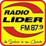 Logo da emissora R�dio L�der 87.9 FM