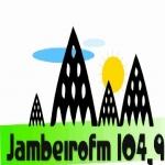 Logo da emissora R�dio Jambeiro 104.9 FM