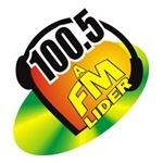 Logo da emissora R�dio L�der 100.5 FM