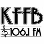 Logo da emissora Radio KFFB 106.1 FM