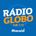 Logo da emissora Rádio Globo Maceió 710 AM