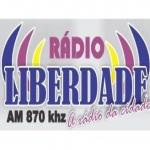 Logo da emissora R�dio Liberdade 870 AM