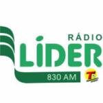Logo da emissora Rádio Líder 830 AM